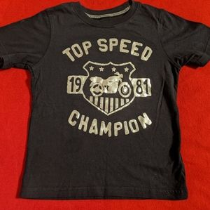 Carter's Top Speed Champion Boys Shirt Size 4T